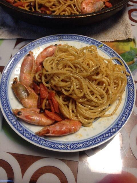 西式家常风味----海鲜意大利面
