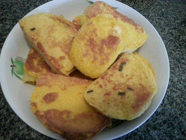 蛋香煎馒头片的做法