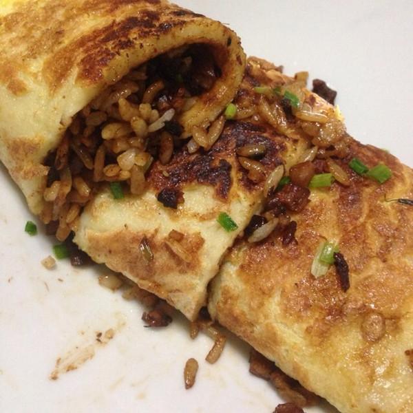 rmen的武汉三鲜豆皮做法的学习成果照 豆果美食