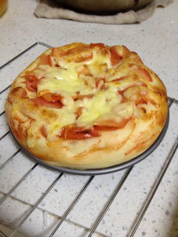 鲜虾披萨(6寸)的做法