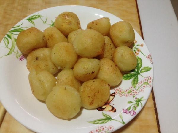 芝士土豆球的做法
