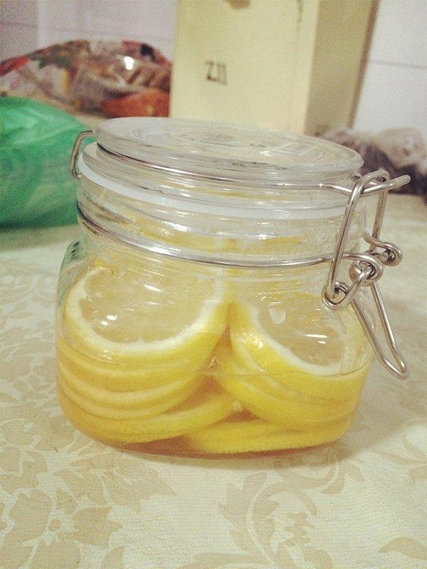 豆粉916788的柠檬蜂蜜水做法的学习成果照