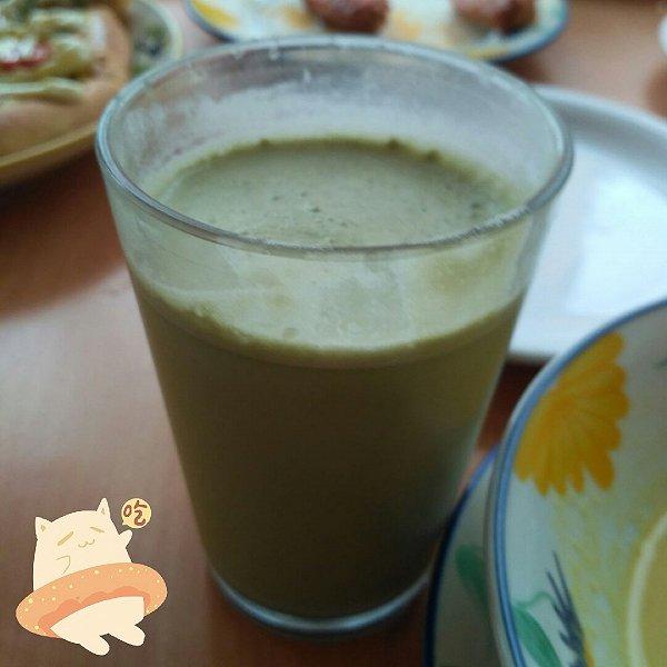 抹茶麦芽奶茶