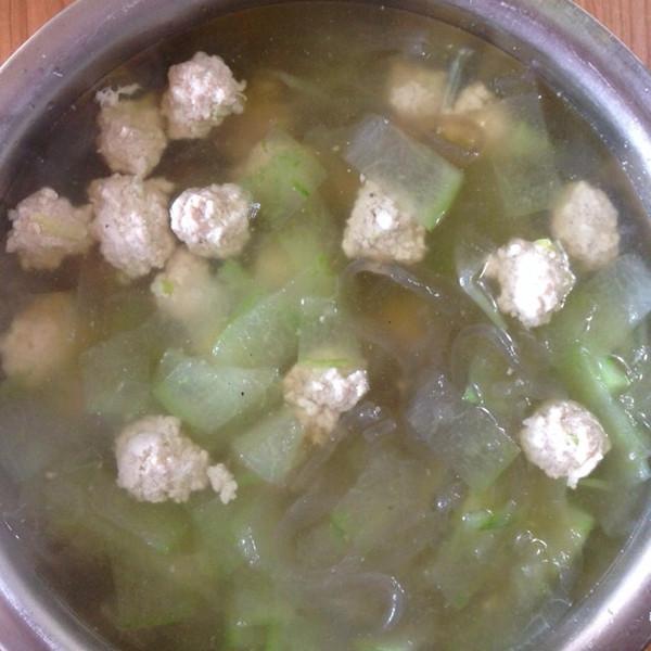 monstereicco做的冬瓜丸子汤的做法