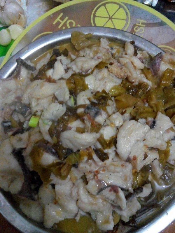 酸菜鱼 超好吃家庭版做法的做法