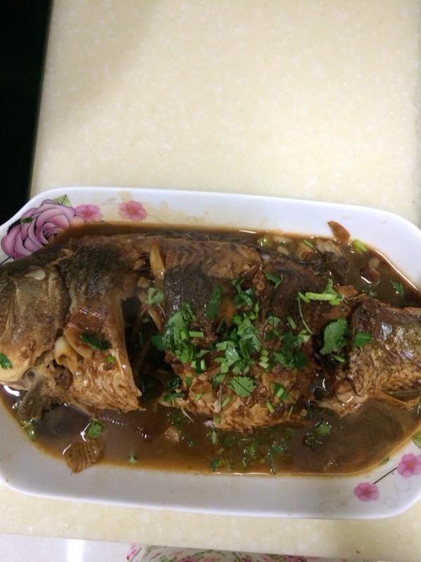 为你洗手做羹汤7的红烧鱼做法的学习成果照 豆果美食