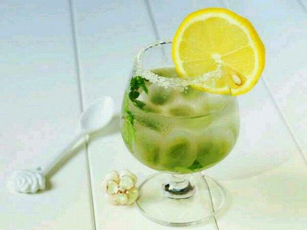 焱的初恋的味水晶柠檬饮的学习果