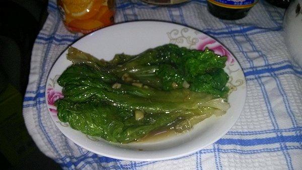 超简易蚝油生菜的做法