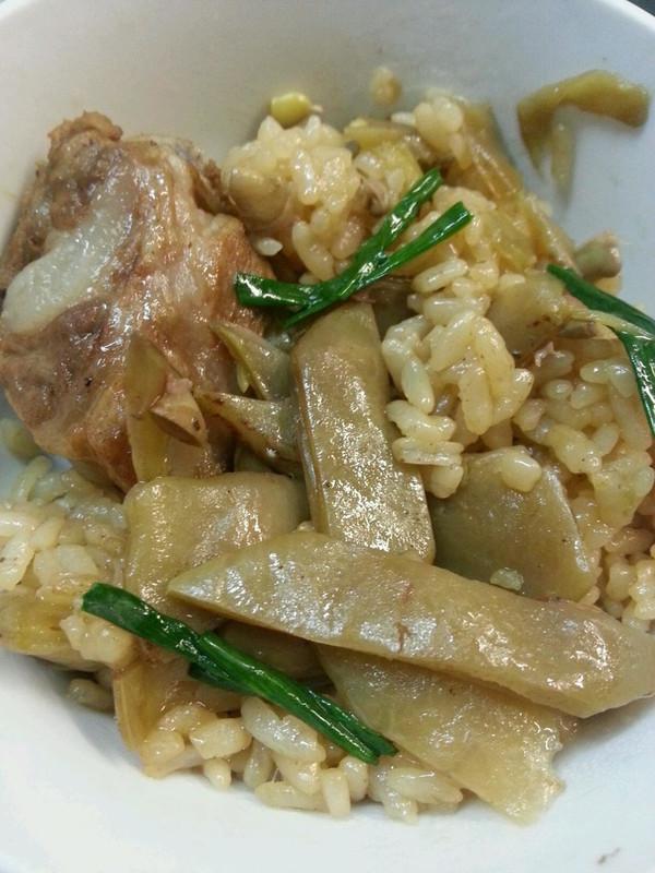 扁豆饭的做法