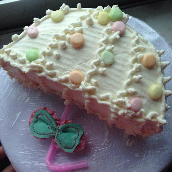 蜗居的猫猫做的雨伞蛋糕的做法_豆果美食