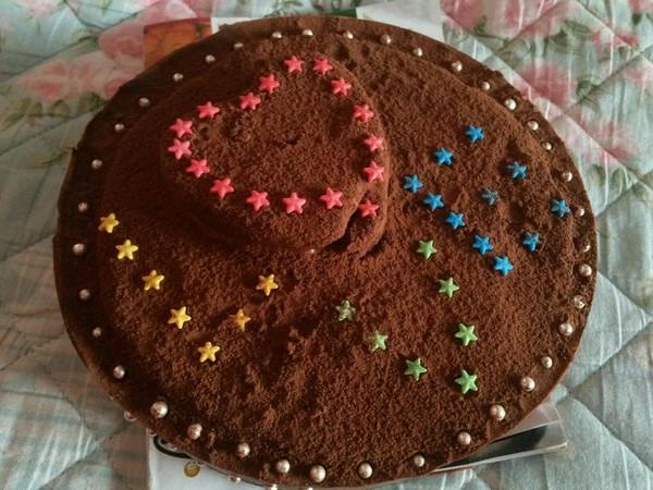 【树莓酱巧克力慕斯】的做法