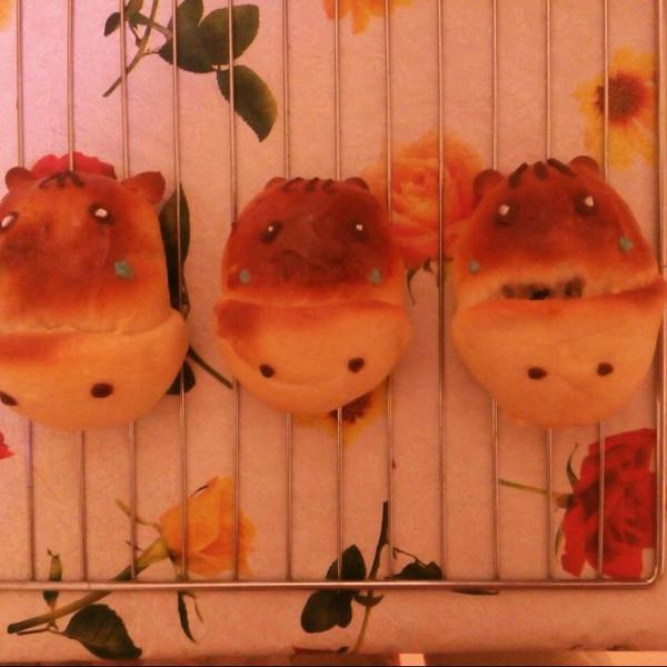 萌萌小马驹面包的做法