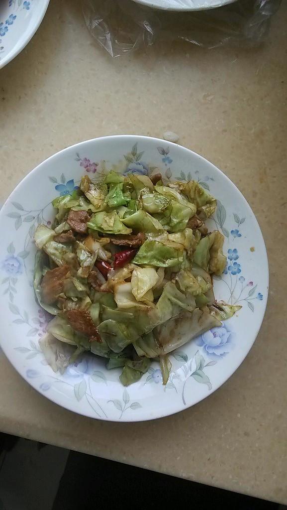 干煸卷心菜的做法
