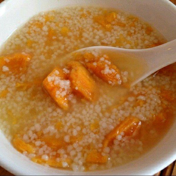 地瓜小米粥的做法