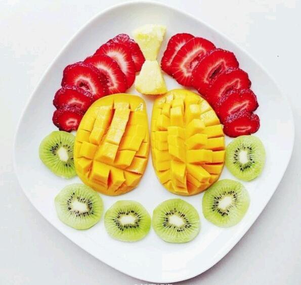 早餐椰子树拼盘