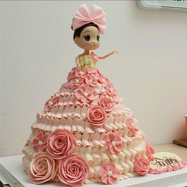 莲的迷糊娃娃蛋糕做法的学习成果照
