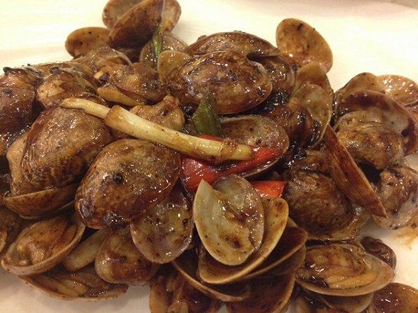 蚝酱炒蛤蛎的做法