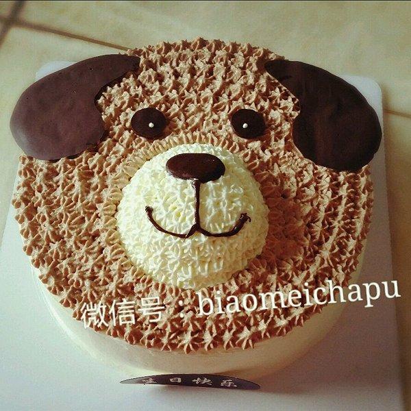 若兰茹梦做的卡通动物蛋糕的做法