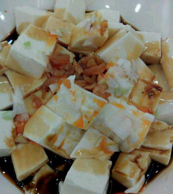 凉拌内酯豆腐的做法