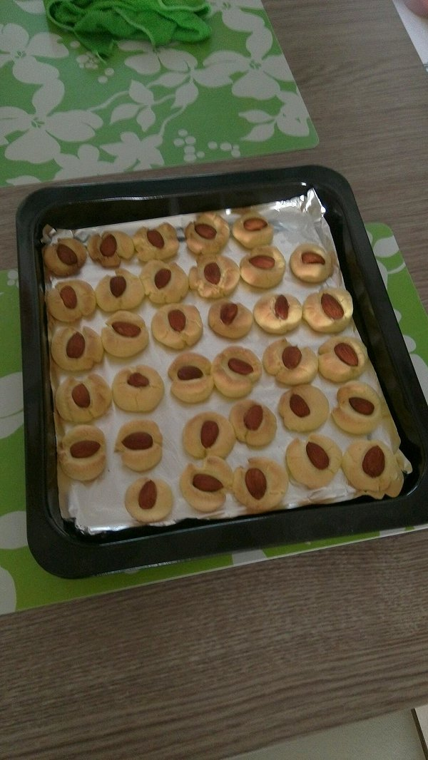 玛格丽特杏仁饼干的做法