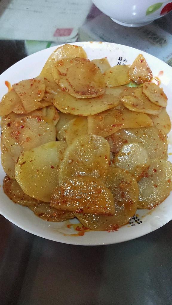 酱香孜然土豆片的做法