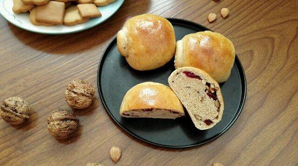 木糖醇面包做法的学习照