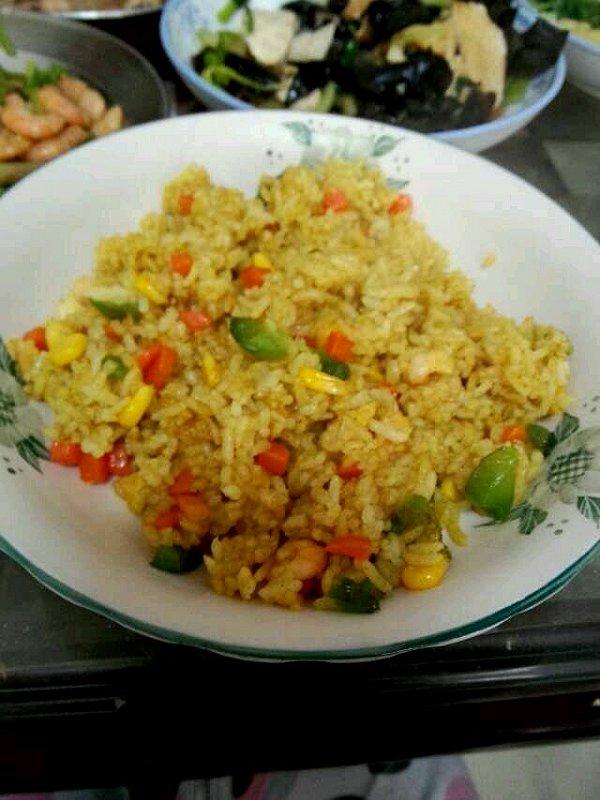 络妈的咖喱海鲜饭做法的学习成果照
