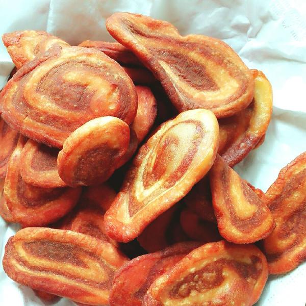 青芜堤上柳qcrj的童年记忆 奶香糖酥猫耳朵做法