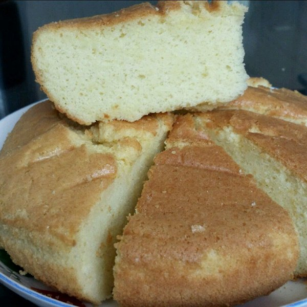 木子二小姐做的手工打发蛋糕的做法