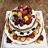 水果奶油裸蛋糕(八寸)#豆果5周年#