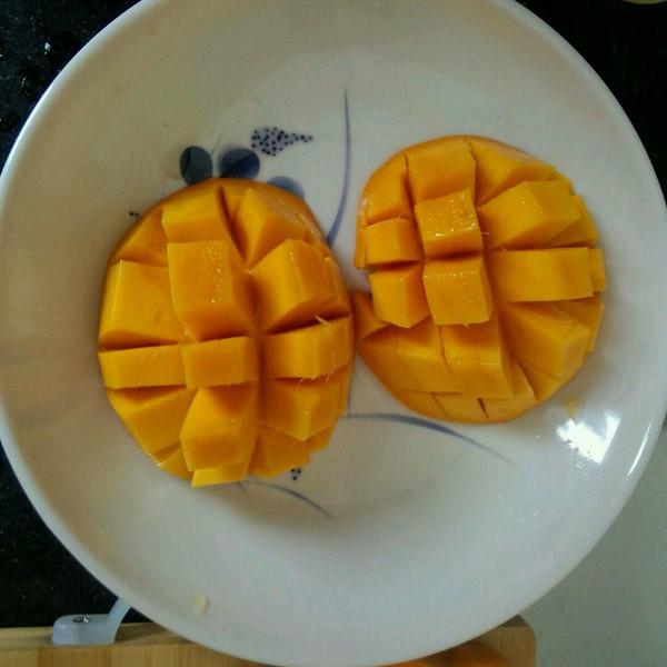 yu小jing的可爱的芒果做法的学习成果照