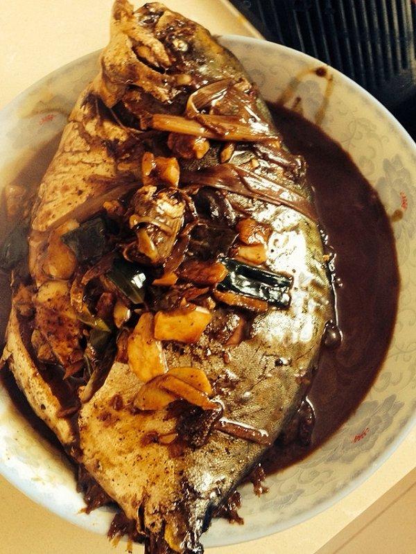 双降牛肉的红烧鱼做法的学习成果照 豆果美食