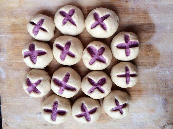 开花馒头_很惊艳的紫薯开花馒头