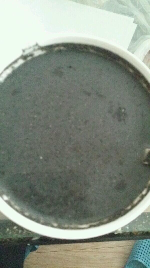 黑芝麻糊(豆浆机版)的做法