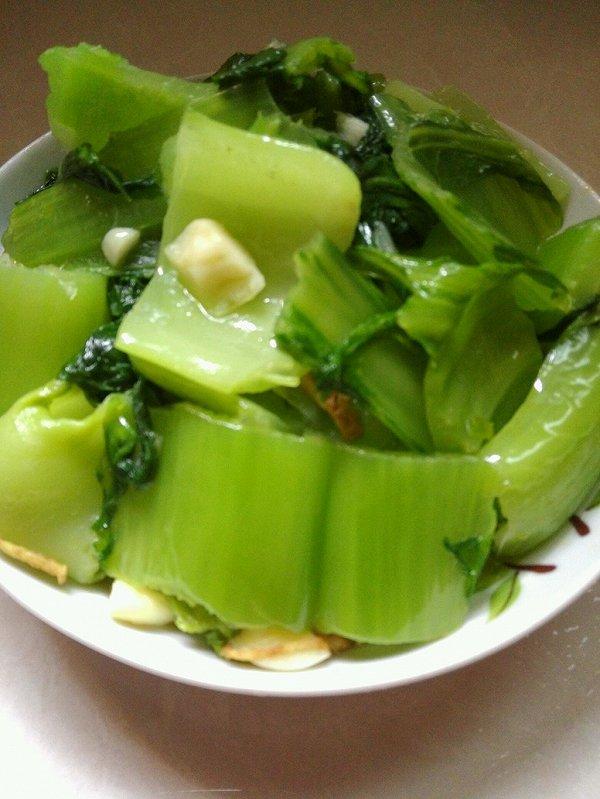 青炒芥菜的做法