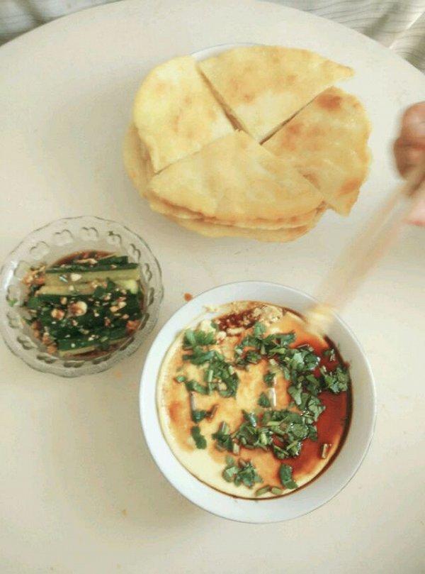 小竹叶的烙发面饼做法的学习成果照 豆果美食图片