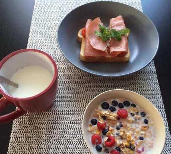 keikeilit做的西式早餐的做法