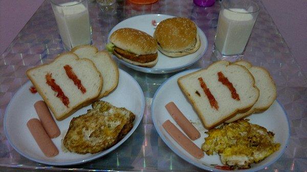 最爱夫做的时尚西式早餐的做法