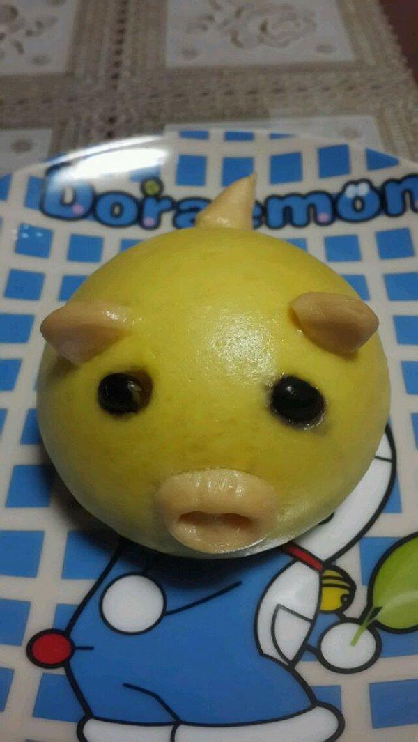 梦境dream的可爱萌猪馒头做法的学习成果照