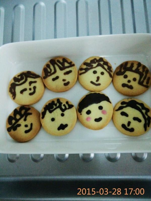 芙蓉厨娘的可爱娃娃饼干