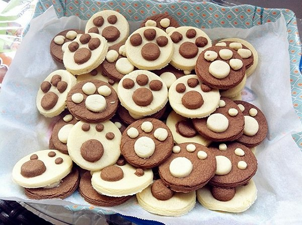 糖果仔的猫爪饼干做法的学习成果照_豆果美食