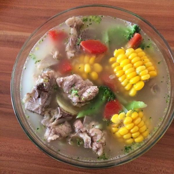 木犀andy的排骨玉米汤做法的学习成果照