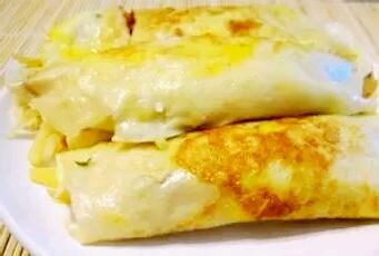 放心早餐:金枪鱼蛋卷的做法