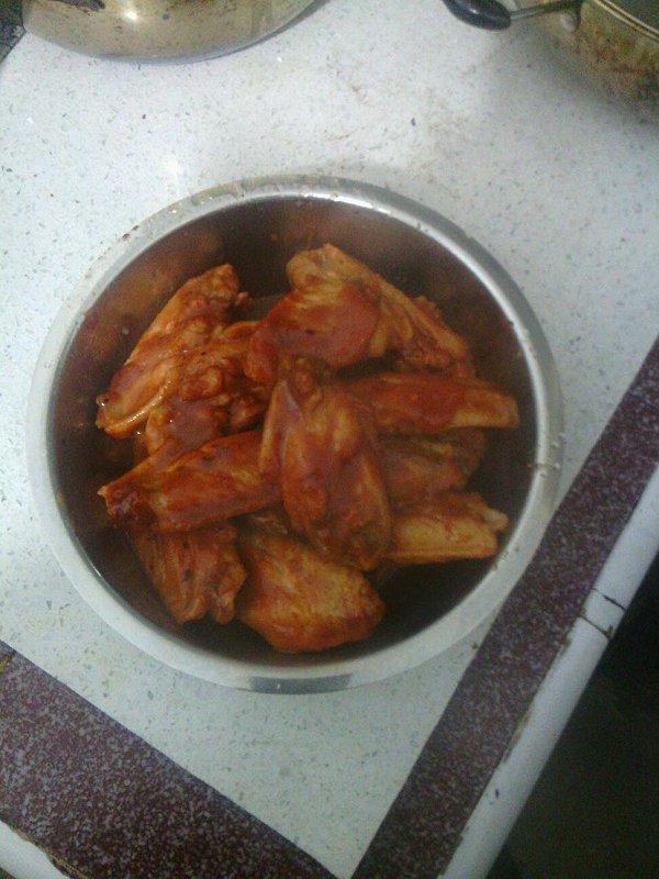 开胃茄汁煎鸡翅的做法