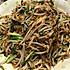 韭菜豆芽炒粉丝