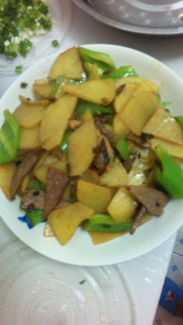 土豆怎么切菱形片_
