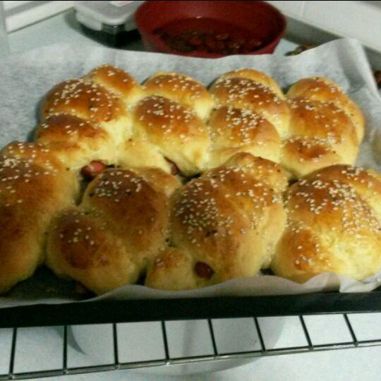 小煮婆的香肠小面包的做法