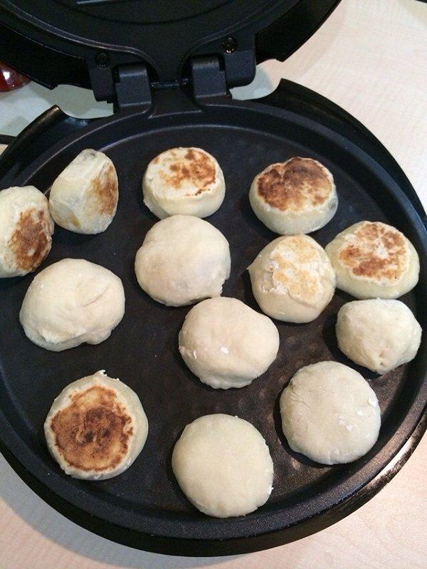 阿朱姐姐的红糖酒酿法饼做法的学习成果照