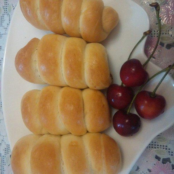 小丽儿儿的腊肠小面包做法的学习成果照
