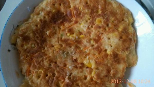 胡萝卜早餐饼的做法